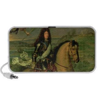Equestrian Portrait of Louis XIV Mini Speaker
