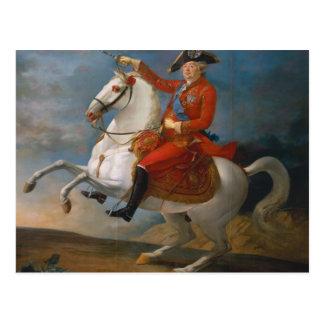 Equestrian Portrait of Louis XVI  1791 Postcard