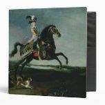 Equestrian Portrait of Marie-Antoinette Binders