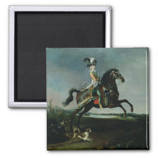Equestrian Portrait of Marie-Antoinette Magnet