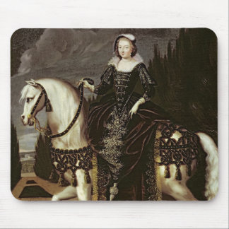 Equestrian Portrait of Marie de Medici Mouse Pad