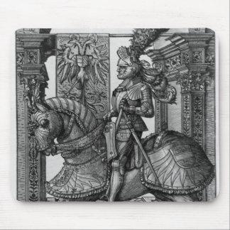 Equestrian portrait of Maximilian I  c.1508 Mouse Pad