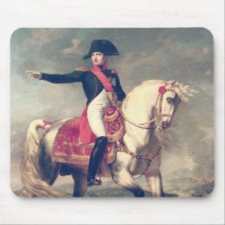 Equestrian Portrait of Napoleon I  1810 Mouse Pad