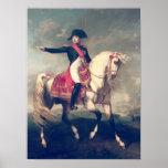 Equestrian Portrait of Napoleon I  1810 Print