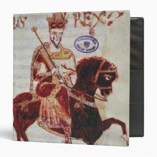 Equestrian portrait of Pepin  King of Italy Binder