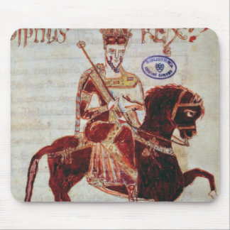 Equestrian portrait of Pepin  King of Italy Mouse Pad