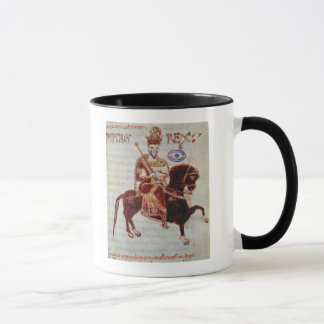 Equestrian portrait of Pepin  King of Italy Mug