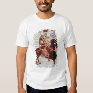 Equestrian portrait of Pepin  King of Italy T-shirt