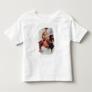 Equestrian portrait of Pepin  King of Italy Toddler T-shirt