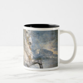 Equestrian Portrait of Philip III  c.1628-35 Two-Tone Coffee Mug