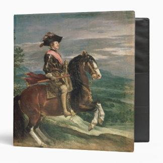 Equestrian Portrait of Philip IV  c.1636 3 Ring Binder