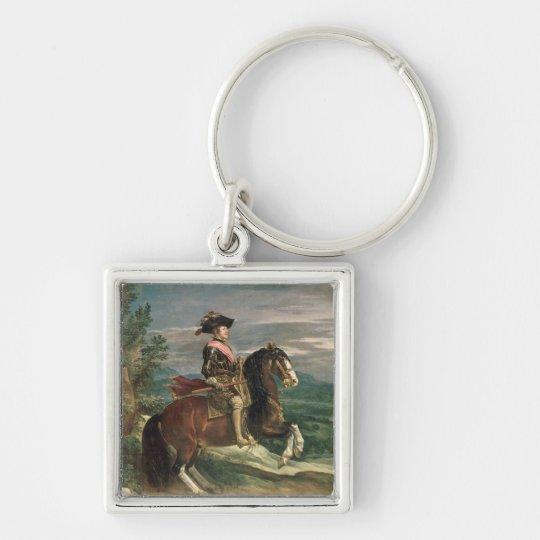 Equestrian Portrait of Philip IV  c.1636 Keychain