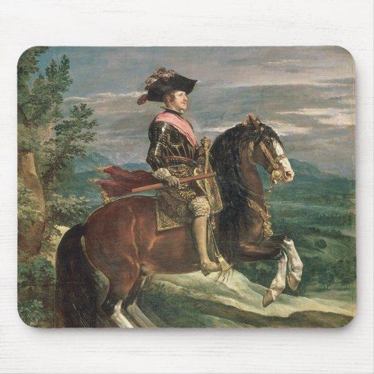 Equestrian Portrait of Philip IV  c.1636 Mouse Pad