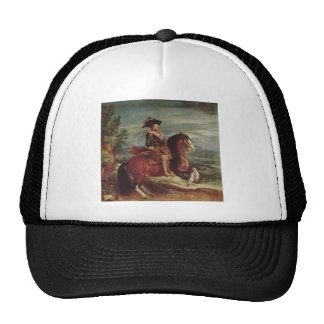 Equestrian Portrait of Philip IV Hats