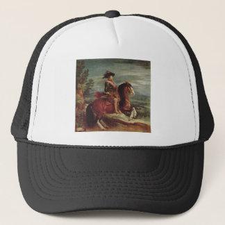 Equestrian Portrait of Philip IV Trucker Hat