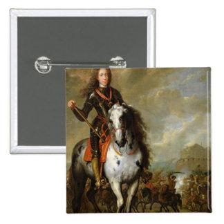 Equestrian Portrait of Prince Eugene Pinback Button