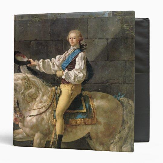 Equestrian Portrait of Stanislas Kostka 3 Ring Binder