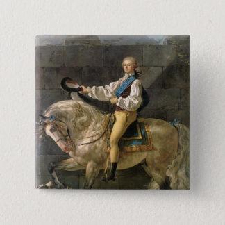 Equestrian Portrait of Stanislas Kostka Button