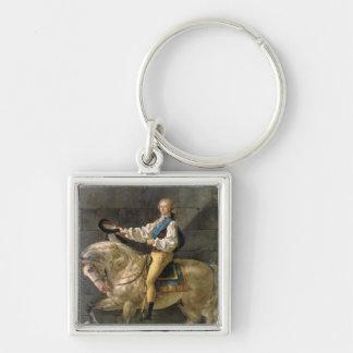 Equestrian Portrait of Stanislas Kostka Keychain