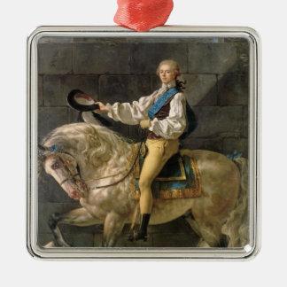 Equestrian Portrait of Stanislas Kostka Metal Ornament