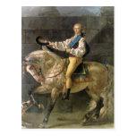 Equestrian Portrait of Stanislas Kostka Postcard