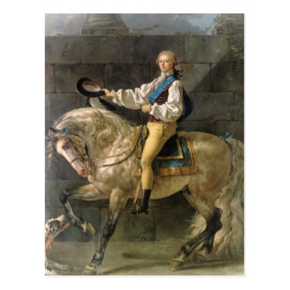 Equestrian Portrait of Stanislas Kostka Post Card
