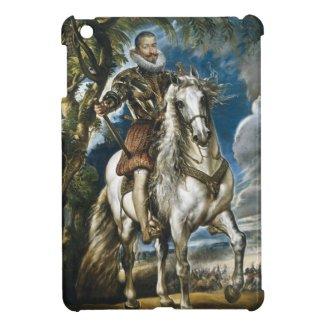 Equestrian Portrait of the Duke of Lerma Rubens Case For The iPad Mini