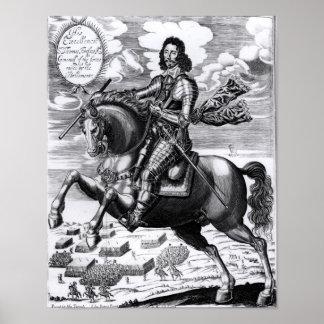 Equestrian portrait poster