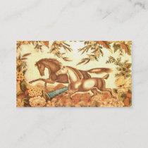 Equestrian Profile Card
