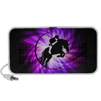 Equestrian púrpura altavoces