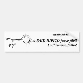 Equestrian raid Sticker