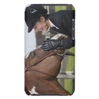 Equestrian rider barely there iPod case