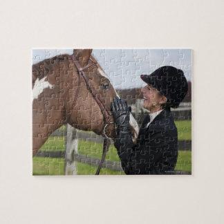 Equestrian rider puzzle