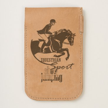 equestrian show jumping iPhone 6/6S case
