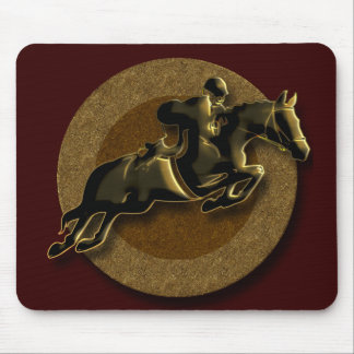 EQUESTRIAN SHOW JUMPING MOUSE PAD