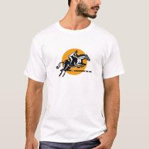 Equestrian Show Jumping Retro T-Shirt