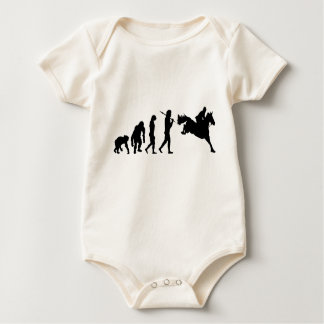 Equestrian Show Jumping riders gift ideas Baby Bodysuit