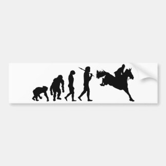 Equestrian Show Jumping riders gift ideas Bumper Sticker