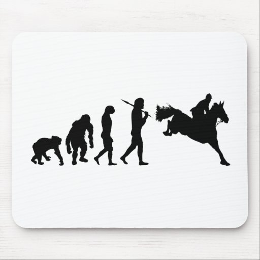 Equestrian Show Jumping riders gift ideas Mouse Pad