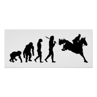 Equestrian Show Jumping riders gift ideas Poster