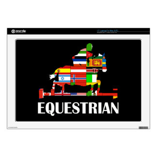 """Equestrian Skin For 17"""" Laptop"""