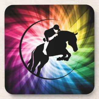 Equestrian Spectrum Beverage Coaster