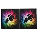 Equestrian Spectrum iPad Folio Case