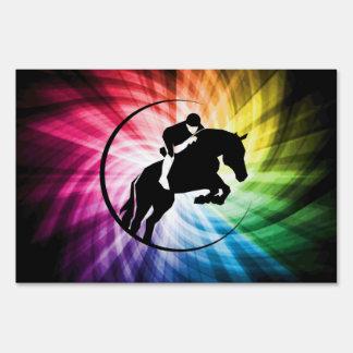 Equestrian Spectrum Lawn Signs