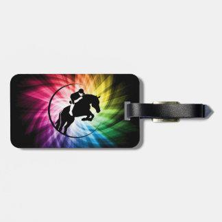 Equestrian Spectrum Luggage Tag