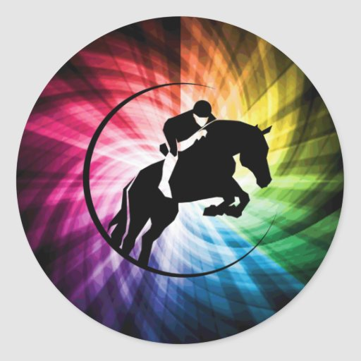 Equestrian Spectrum Stickers