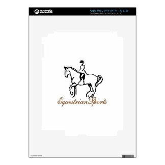 Equestrian Sports iPad 3 Decals