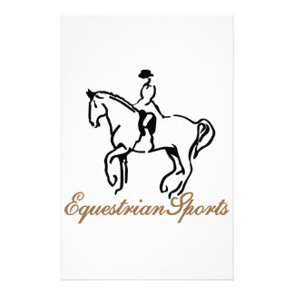 Equestrian Sports Stationery