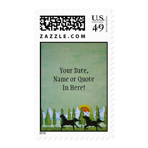 Equestrian Stamps