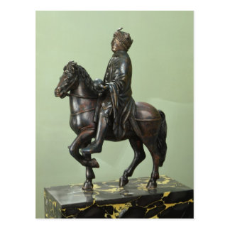 Equestrian statue of Charlemagne 2 Postcard